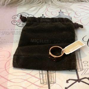 Michael Kors new gold tone ring.